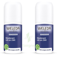 Weleda Duo Déodorant Roll-on 24h Homme 100ml à Versailles