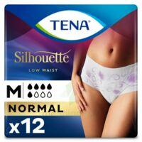 Tena Lady Silhouette Slip Absorbant Blanc Normal Médium Paquet/12 à Versailles