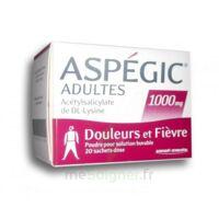 Aspegic Adultes 1000 Mg, Poudre Pour Solution Buvable En Sachet-dose 20 à Versailles