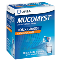 Mucomyst 200 Mg Poudre Pour Solution Buvable En Sachet B/18 à Versailles
