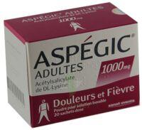 Aspegic Adultes 1000 Mg, Poudre Pour Solution Buvable En Sachet-dose 15 à Versailles