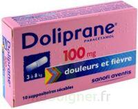 Doliprane 100 Mg Suppositoires Sécables 2plq/5 (10) à Versailles
