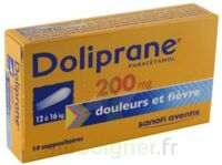 Doliprane 200 Mg Suppositoires 2plq/5 (10) à Versailles