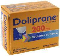Doliprane 200 Mg Poudre Pour Solution Buvable En Sachet-dose B/12 à Versailles