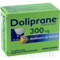 Doliprane 300 Mg Poudre Pour Solution Buvable En Sachet-dose B/12 à Versailles