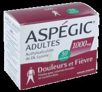 Aspegic Adultes 1000 Mg, Poudre Pour Solution Buvable En Sachet-dose 30 à Versailles