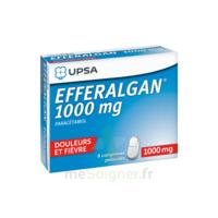 Efferalgan 1000 Mg Comprimés Pelliculés Plq/8 à Versailles