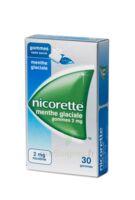 Nicorette 2 Mg Gom à Mâcher Médic Sans Sucre Menthe Glaciale Plq/30gom à Versailles