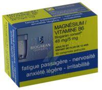 Magnesium/vitamine B6 Biogaran Conseil 48 Mg/5 Mg, Comprimé Pelliculé à Versailles
