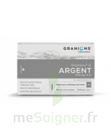 Granions D'argent 0,64 Mg/2 Ml S Buv 30amp/2ml à Versailles