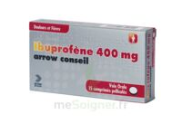 Ibuprofene Arrow Conseil 400 Mg, Comprimé Pelliculé à Versailles