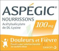 Aspegic Nourrissons 100 Mg, Poudre Pour Solution Buvable En Sachet-dose à Versailles