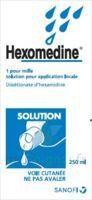 Hexomedine 1 Pour Mille S Appl Loc Fl/250ml à Versailles