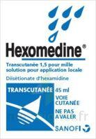 Hexomedine Transcutanee 1,5 Pour Mille, Solution Pour Application Locale à Versailles