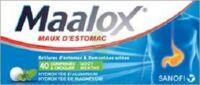 Maalox Hydroxyde D'aluminium/hydroxyde De Magnesium 400 Mg/400 Mg Cpr à Croquer Maux D'estomac Plq/40 à Versailles