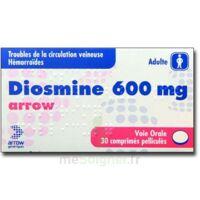 Diosmine Arrow 600 Mg, Comprimé Pelliculé à Versailles