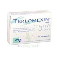 Terlomexin 200 Mg, Capsule Molle Vaginale à Versailles