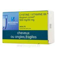 Cystine/vitamine B6 Biogaran Conseil 500 Mg/50 Mg Cpr Pell Plq/120 à Versailles