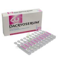 Dacryoserum Solution Pour Lavage Ophtalmique En Récipient Unidose 20unidoses/5ml à Versailles