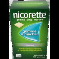 Nicorette 2 Mg Gom à Mâcher Médic Sans Sucre Menthe Fraîche Plq/105gom à Versailles