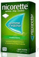 Nicorette 2 Mg Gom à Mâcher Médic Sans Sucre Menthe Fraîche Plq/30gom à Versailles