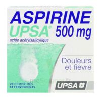 Aspirine Upsa 500 Mg, Comprimé Effervescent à Versailles