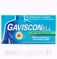Gavisconell Coprimés à Croquer Sans Sucre Menthe édulcoré à L'aspartam Et à L'acésulfame Potas Plq/24 à Versailles