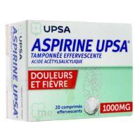 Aspirine Upsa Tamponnee Effervescente 1000 Mg, Comprimé Effervescent à Versailles