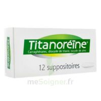 Titanoreine Suppositoires B/12 à Versailles