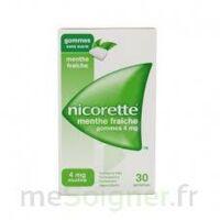 Nicorette 4 Mg Gom à Mâcher Médic Sans Sucre Menthe Fraîche Plq/30gom à Versailles