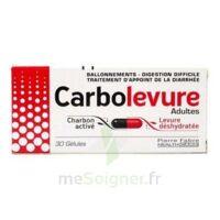 Carbolevure Gélules Adulte Plq/30 à Versailles