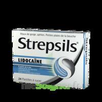 Strepsils Lidocaïne Pastilles Plq/24 à Versailles