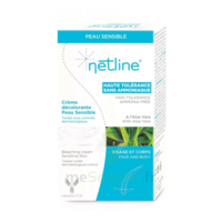 Netline Crème Visage/corps Décolorante Peau Sensible 30+30ml à Versailles