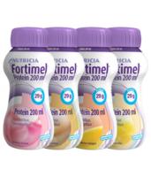 Fortimel Protein Nutriment Multi Saveurs Caramel/vanille/fraise/mangue 4 Bouteilles/200ml à Versailles