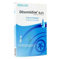 Desomedine 0,1 % Collyre Sol 10fl/0,6ml à Versailles