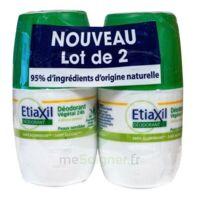 Etiaxil Végétal Déodorant 24h 2roll-on/50ml à Versailles