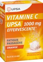 Vitamine C Upsa Effervescente 1000 Mg, Comprimé Effervescent à Versailles